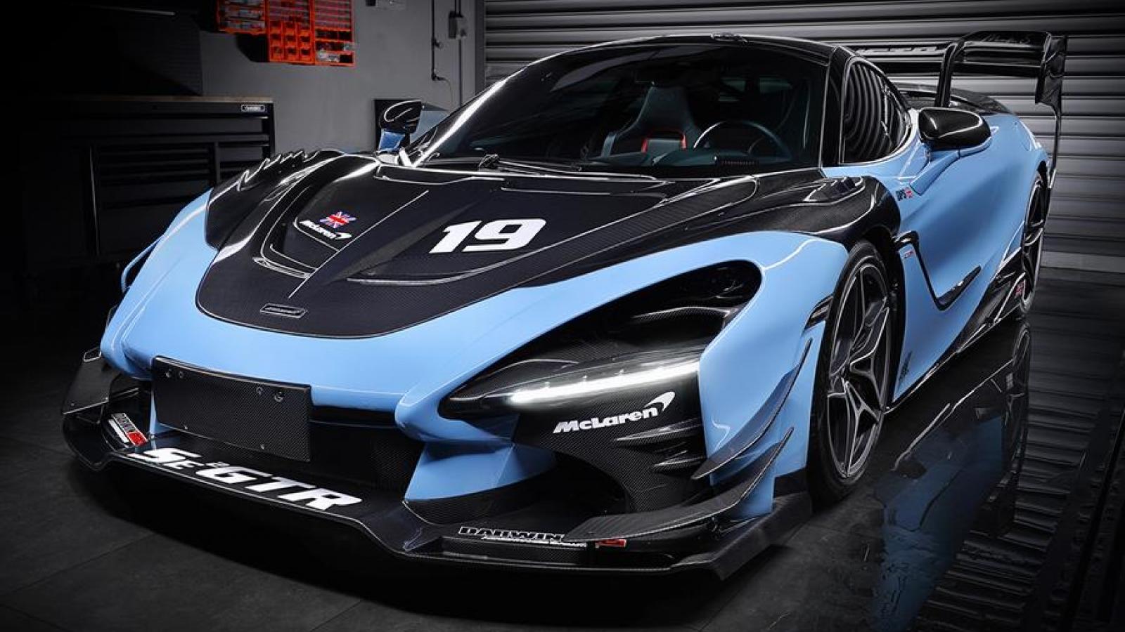 """McLaren 720S """"hóa thân"""" thành Senna GTR thông qua gói độ đặc biệt"""