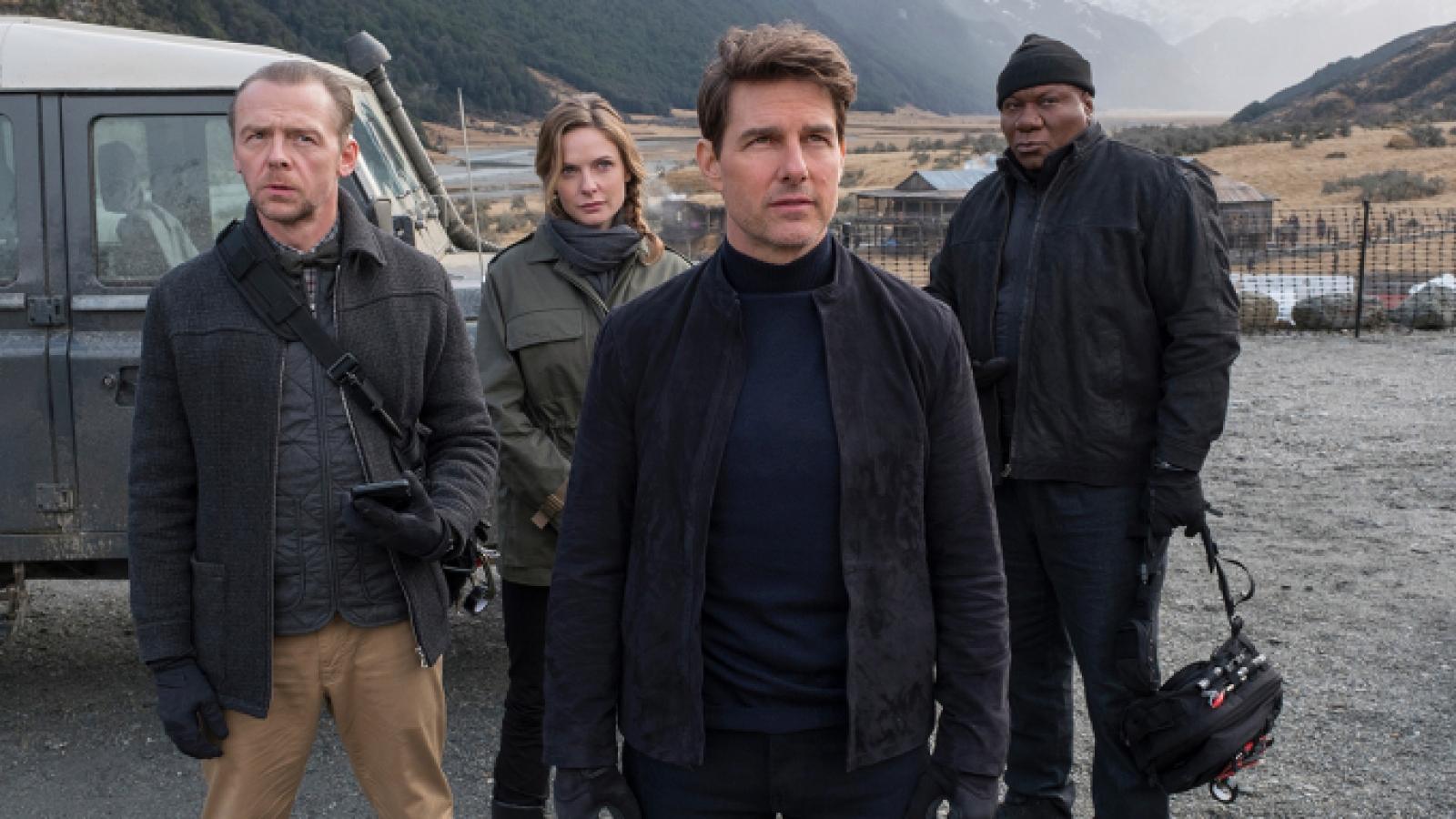 Phim của Tom Cruise dừng sản xuất vì có ca mắc Covid-19