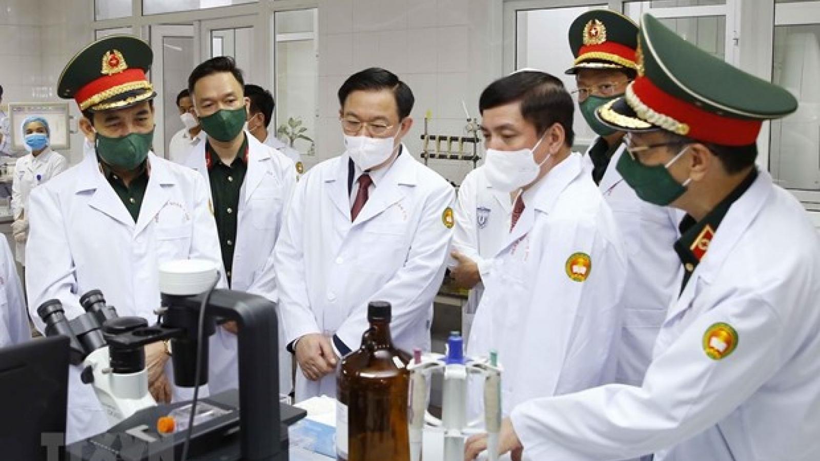 NA Chairman visits Military Medical University