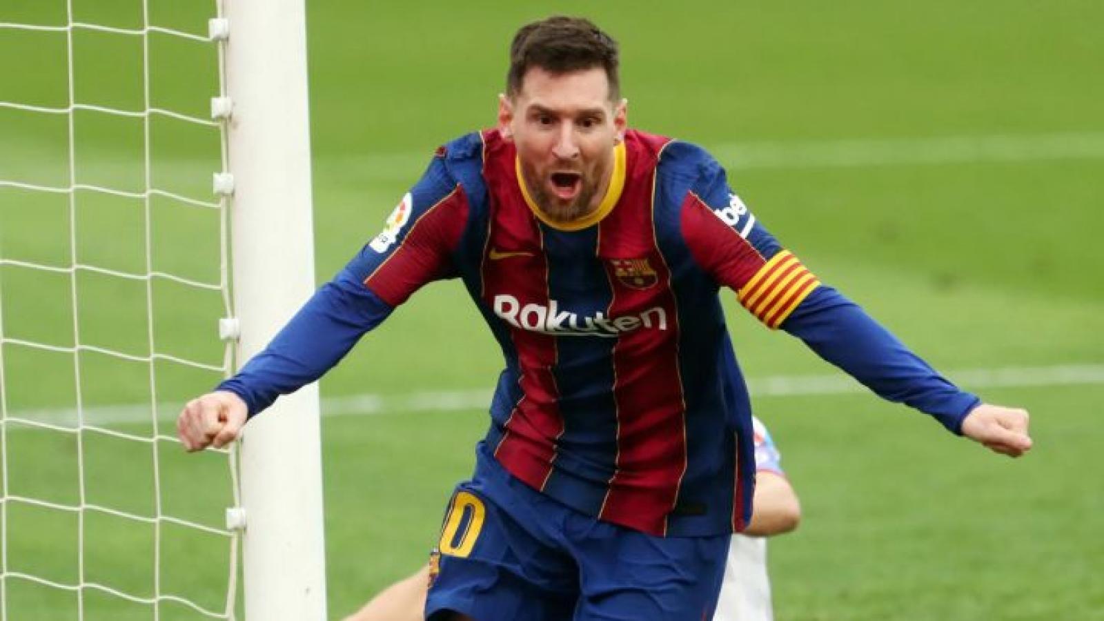 Lionel Messi đồng ý gia hạn hợp đồng 2 năm với Barca