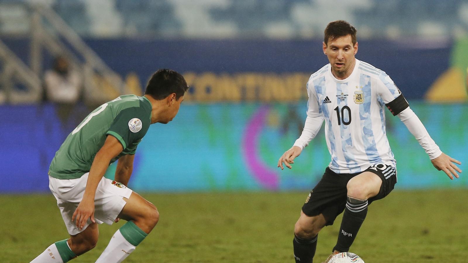 Messi lập cú đúp, Argentina nhất bảng A - Copa America 2021