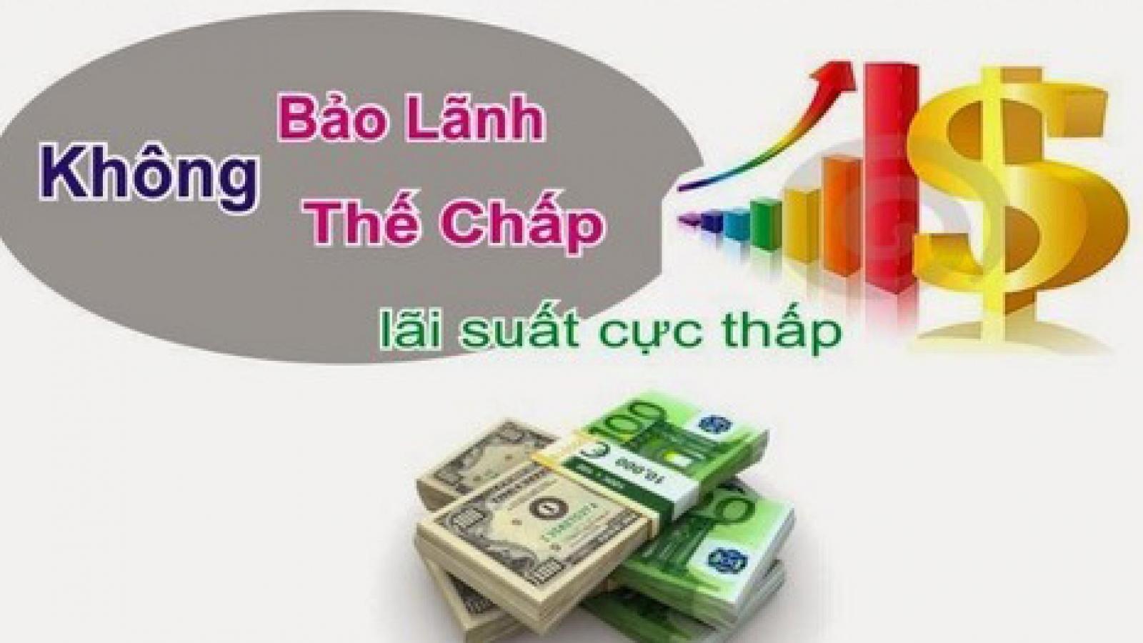 Vay tiền của công ty tài chính: Cẩn trọng với mức lãi suất cắt cổ