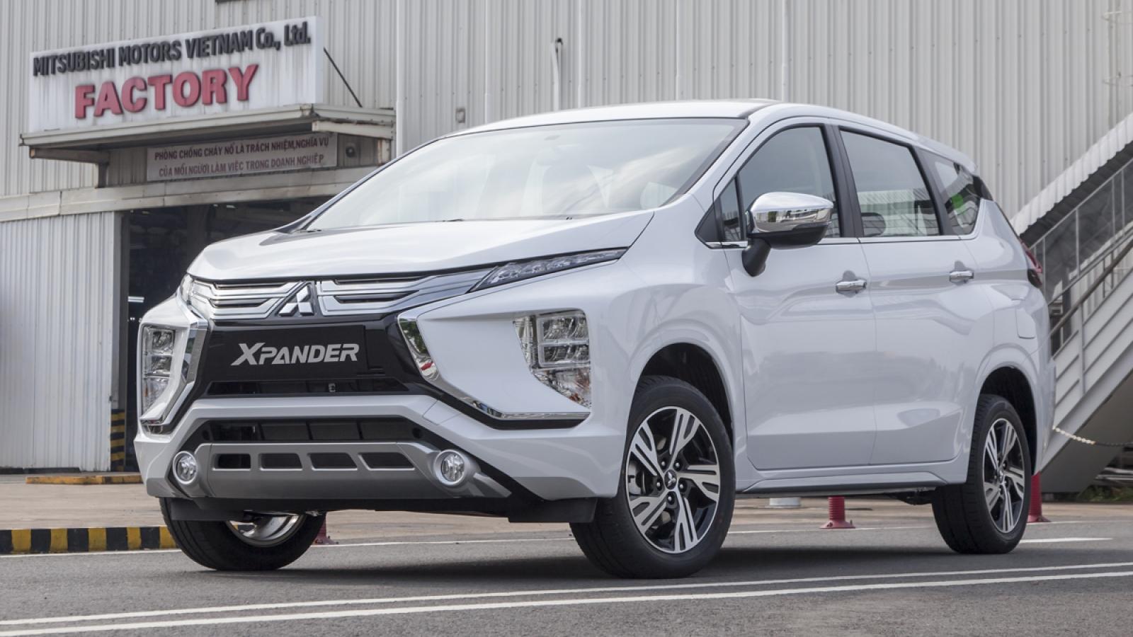 Mitsubishi Xpander tiếp tục thống trị phân khúc MPV tháng 5/2021