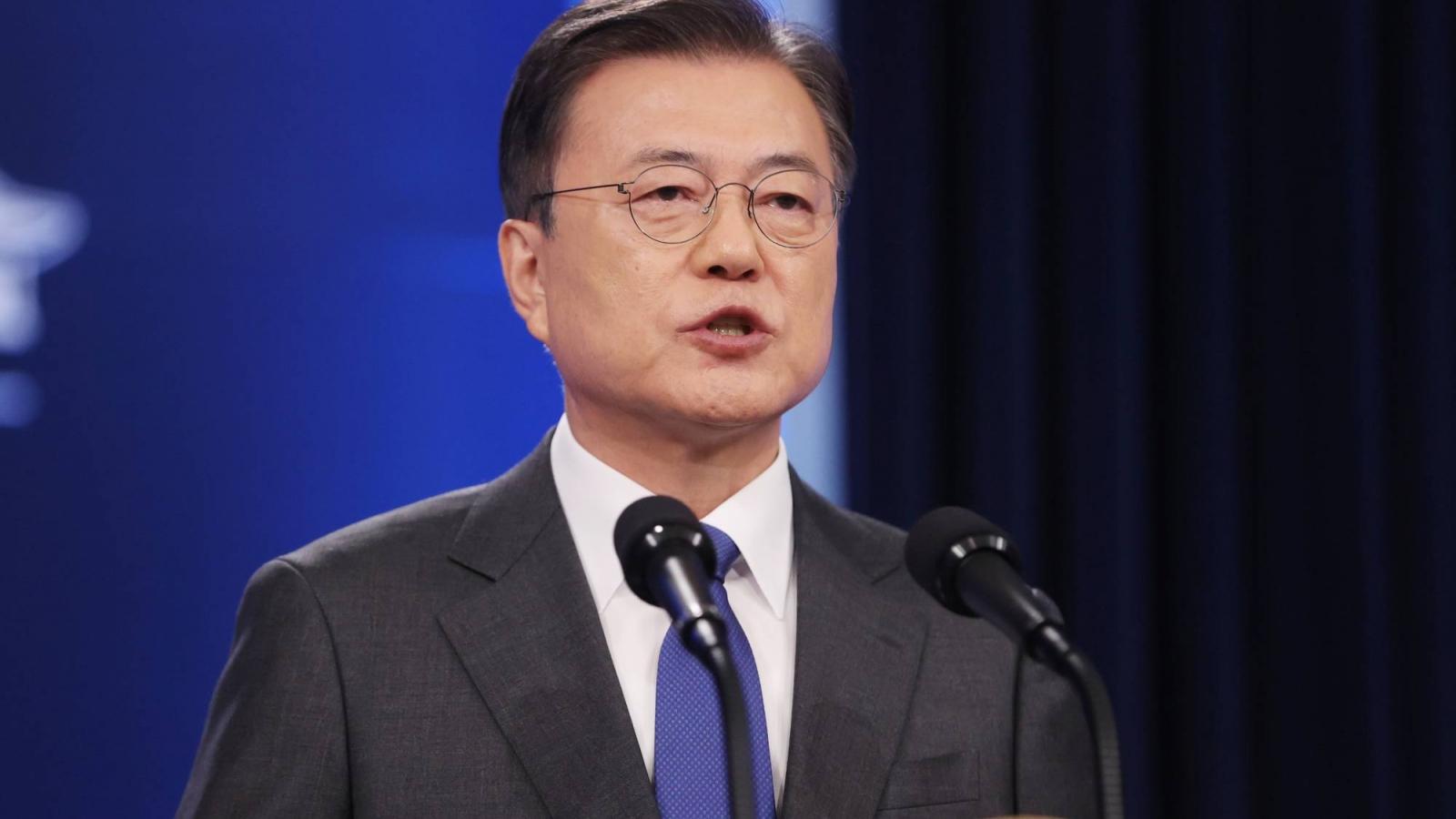 Tổng thống Hàn Quốc tái khẳng định cam kết cải thiện quan hệ với Triều Tiên
