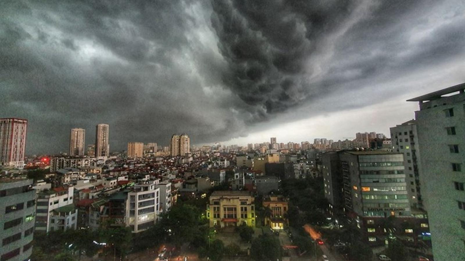 Thời tiết hôm nay 25/6: Hà Nội tiếp tục có mưa dông