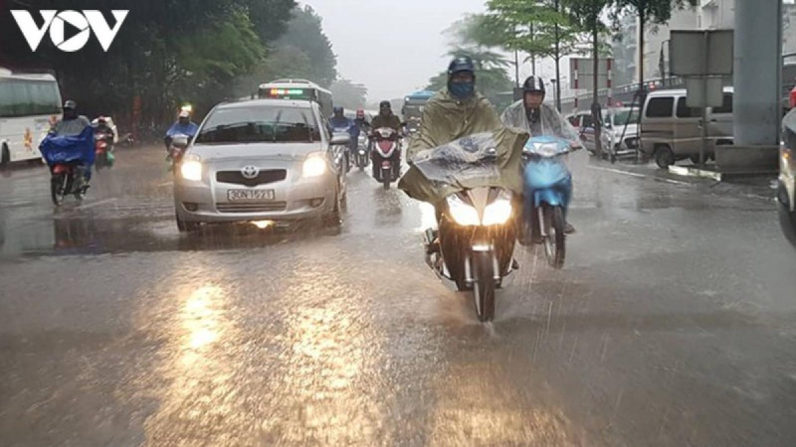 Áp thấp nhiệt đới trên đất liền suy yếu từ bão số 2