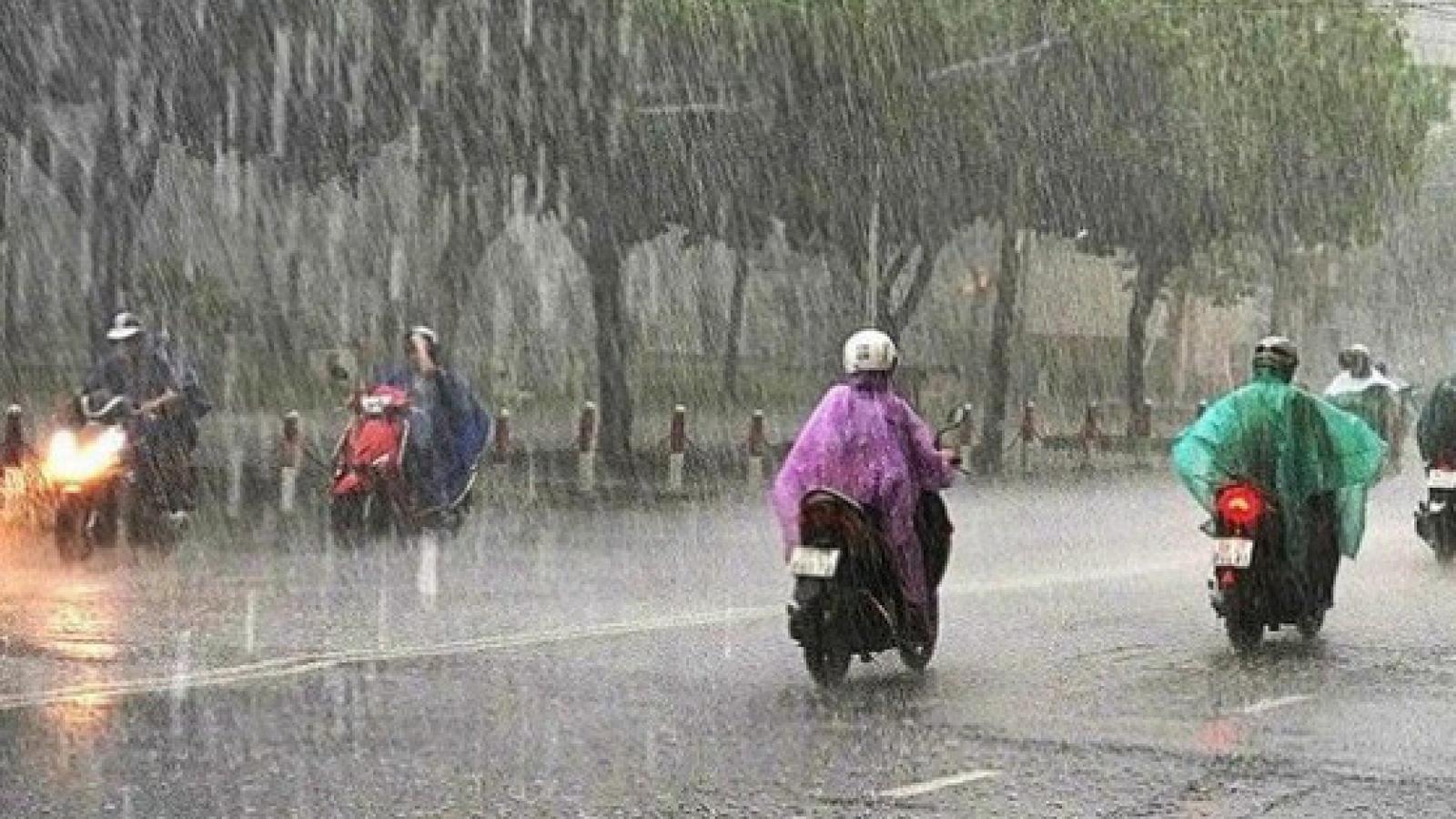 Thời tiết ngày 24/6: Miền Bắc tiếp tục có mưa giông, Trung Bộ nắng nóng gay gắt