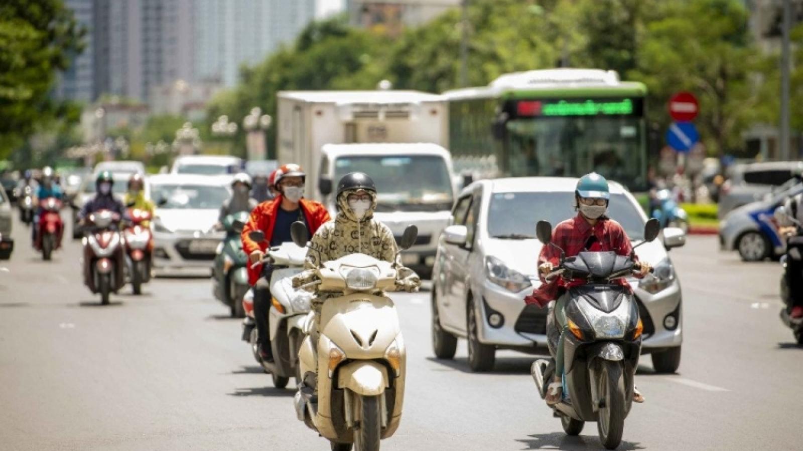 Thời tiết hôm nay 14/6: Hà Nội ngày nắng, chiều tối có mưa vài nơi