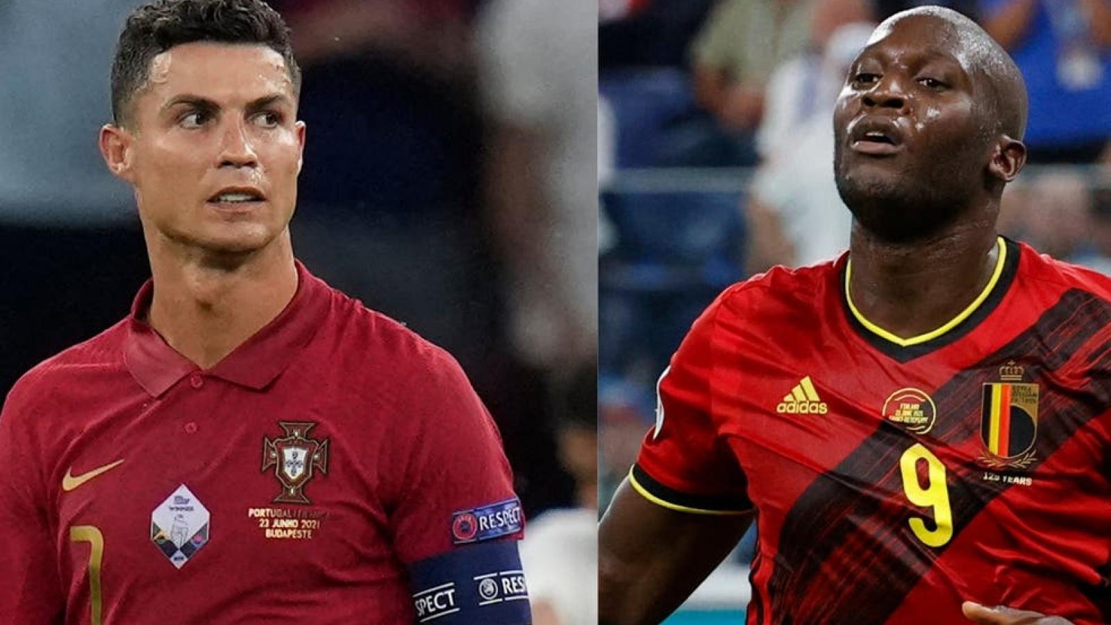 """Lịch thi đấu EURO 2021 hôm nay 27/6: Bỉ """"đại chiến"""" Bồ Đào Nha"""