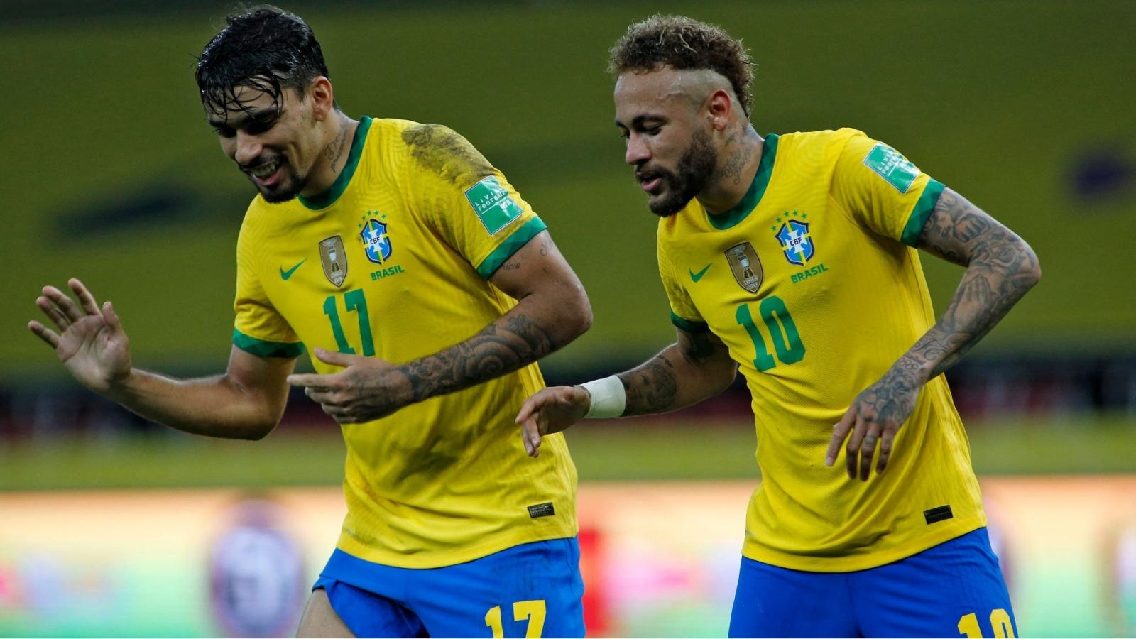 Neymar vừa ghi bàn vừa kiến tạo, Brazil thắng nhọc Ecuador