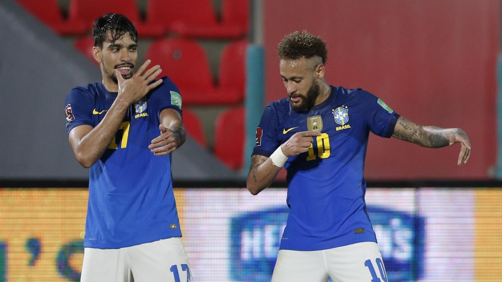 Neymar tỏa sáng, Brazil bứt phá ở vòng loại World Cup 2022