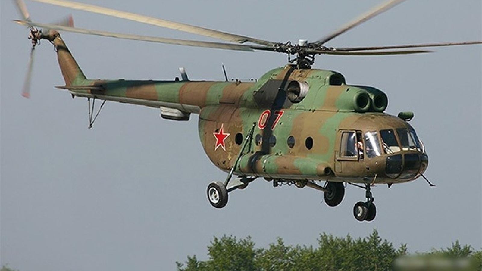 Rơi trực thăng Mi-8 của Nga, 3 quân nhân thiệt mạng