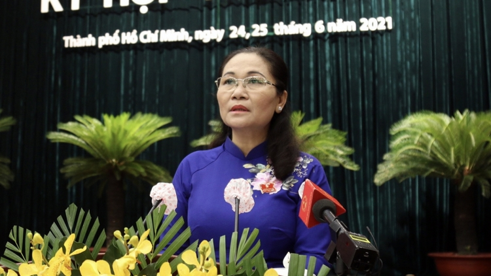 Bà Nguyễn Thị Lệ được bầu giữ chức Chủ tịch Hội đồng nhân dân TP.HCM