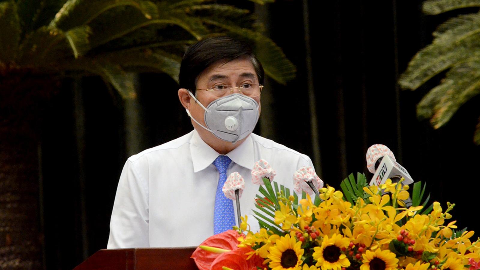 Ông Nguyễn Thành Phong tái đắc cử Chủ tịch UBND TP.HCM