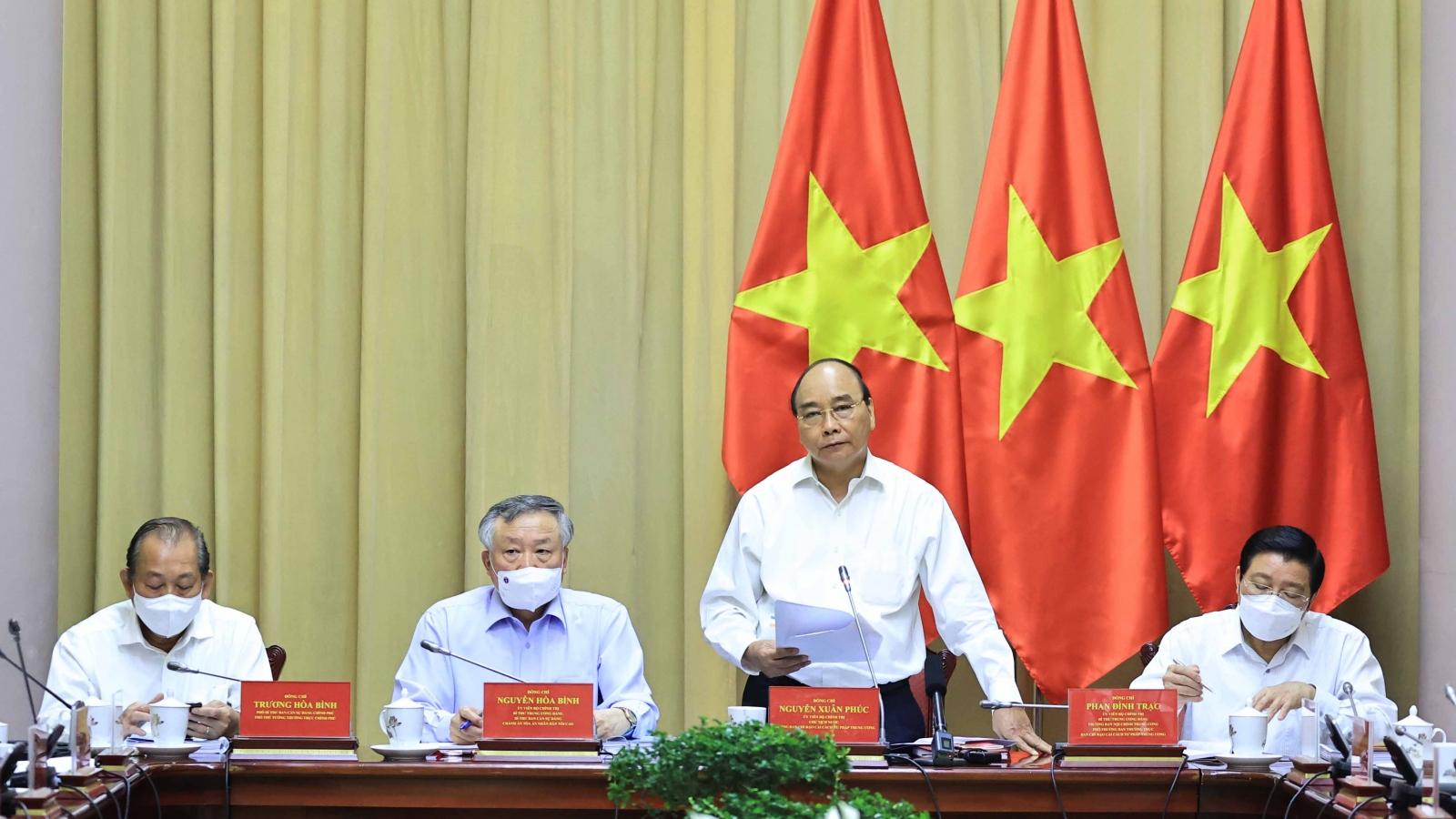 Chủ tịch nước: Nâng cao hiệu quả hoạt động của Tòa án trong tình hình mới