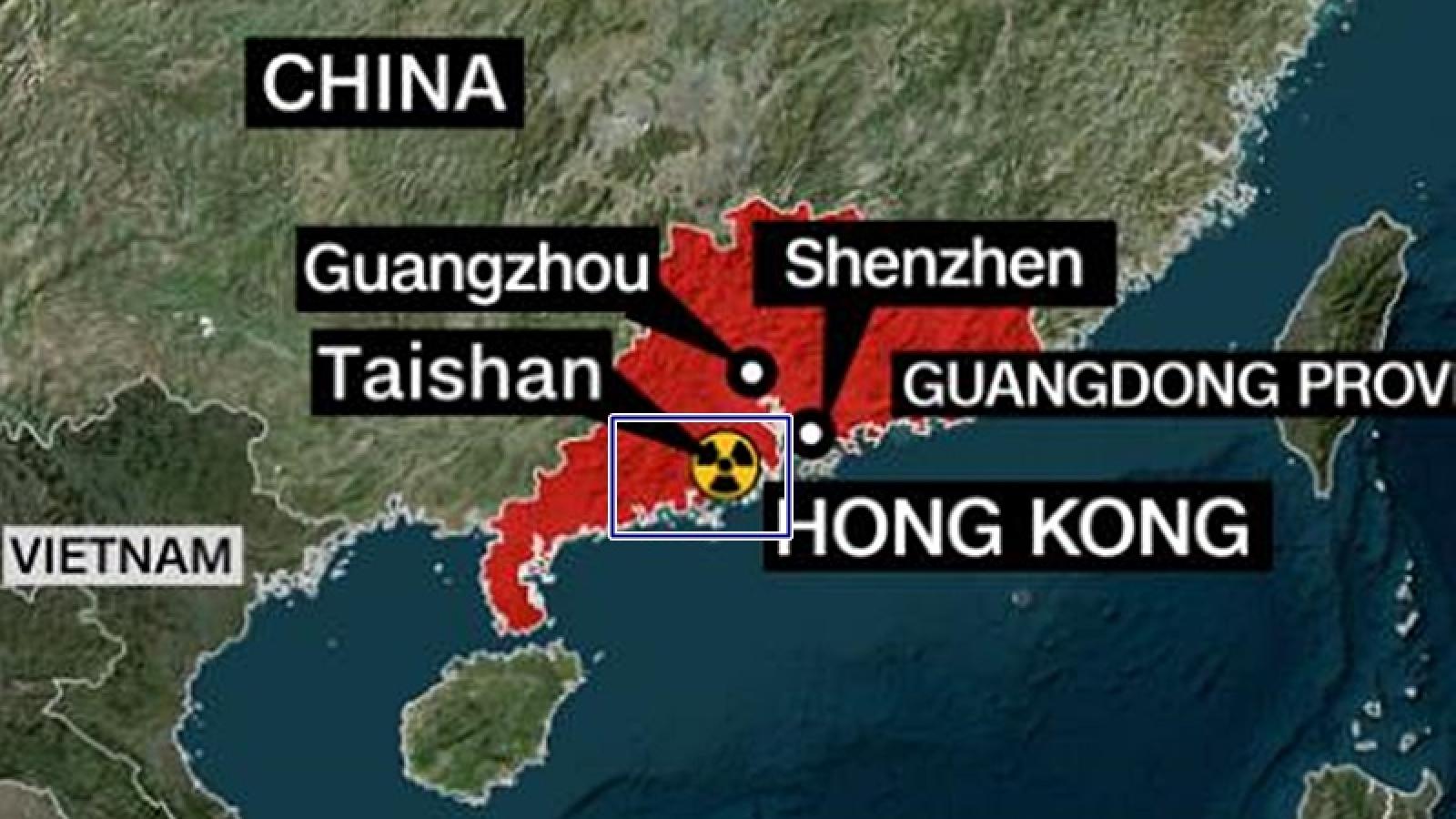 Mỹ theo dõi chặt chẽ cáo buộc nhà máy hạt nhân Trung Quốc bị rò rỉ phóng xạ gần Việt Nam