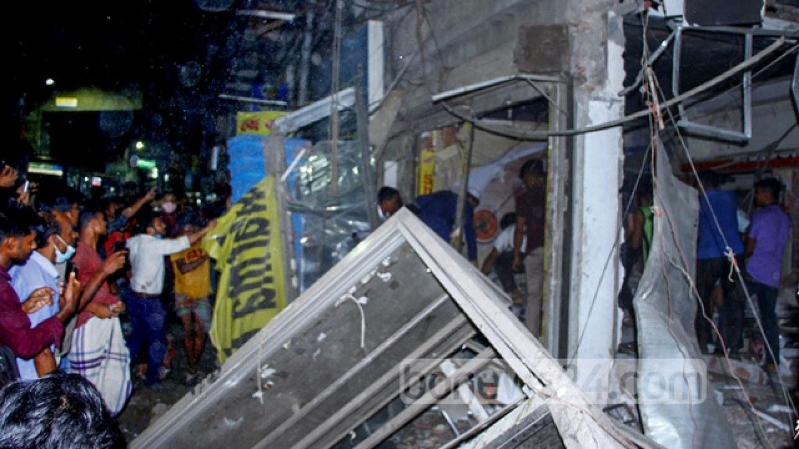 Sập nhà tại Bangladesh: Ít nhất 7 người thiệt mạng, hàng chục người bị thương