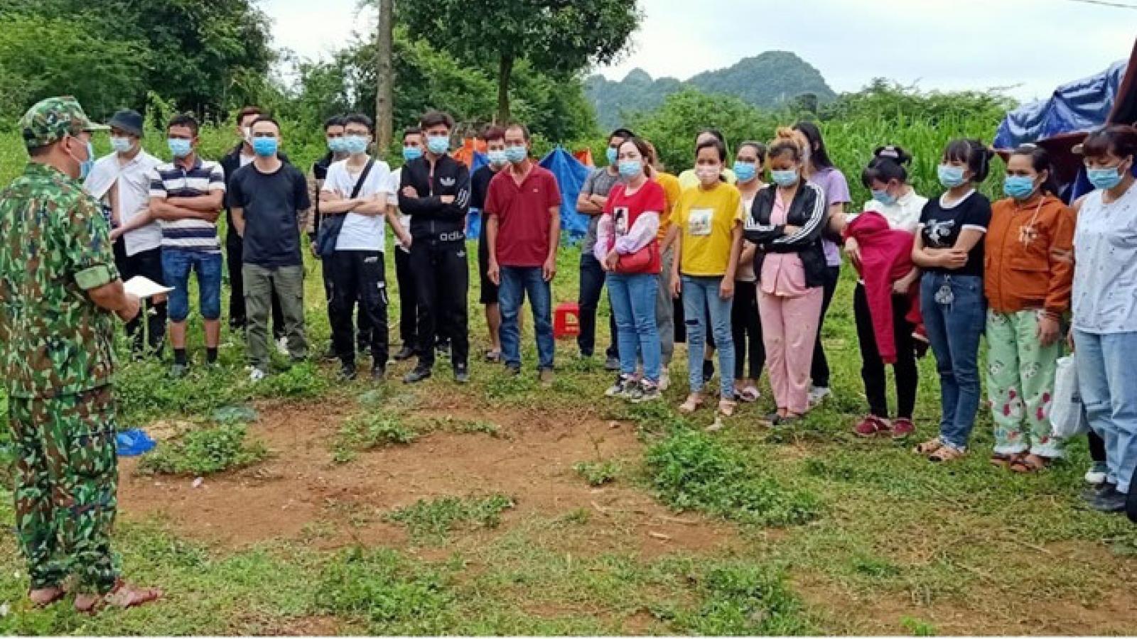 59 người từ Trung Quốc nhập cảnh trái phép về Việt Nam