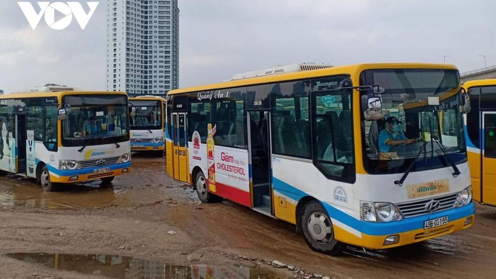 Hoạt động trở lại 50% số chuyến vận tải hành khách tuyến Lai Châu - Hà Nội