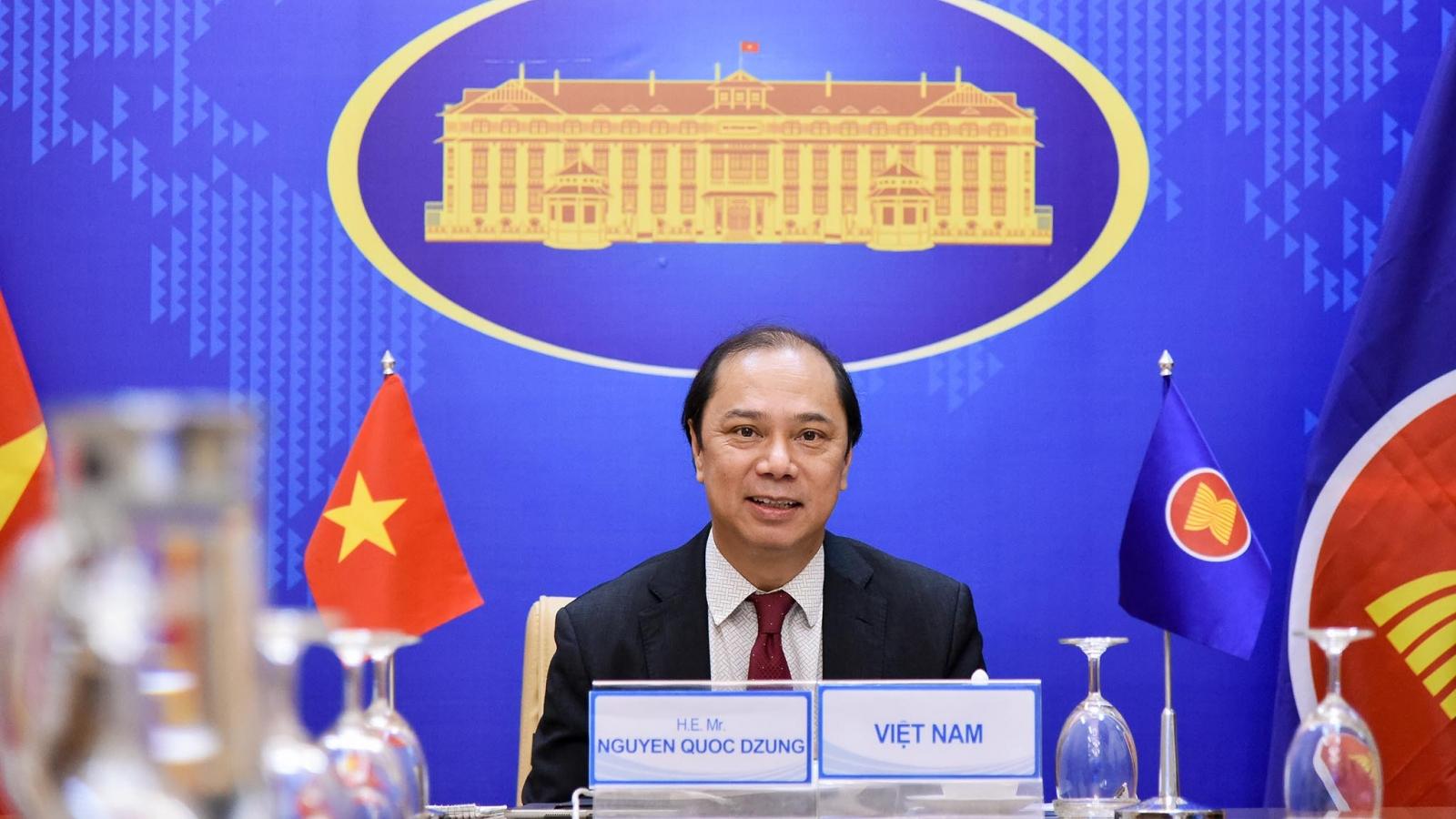 Hội nghị Quan chức cao cấp (SOM) các nước tham gia Hội nghị cấp cao Đông Á (EAS)