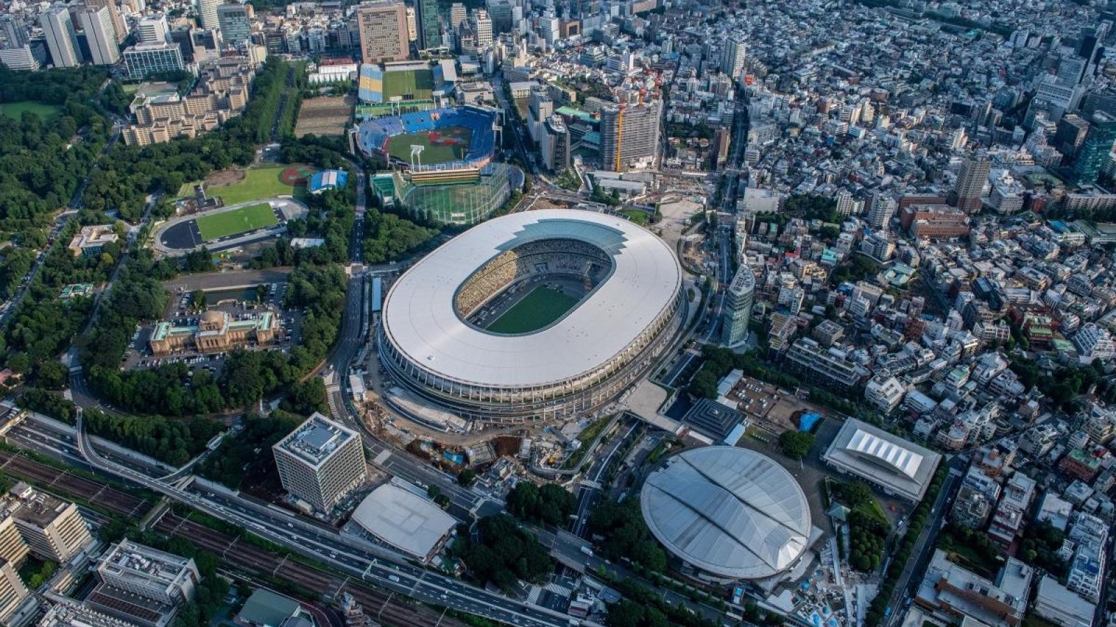 Nhật Bản tổ chức diễn tập cho Olympic Tokyo