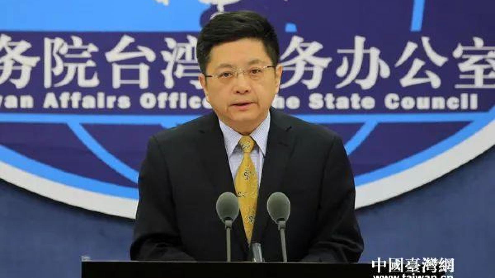 """Trung Quốc cảnh báo Đài Loan sẽ thất bại nếu muốn """"giành độc lập bằng vũ lực"""""""