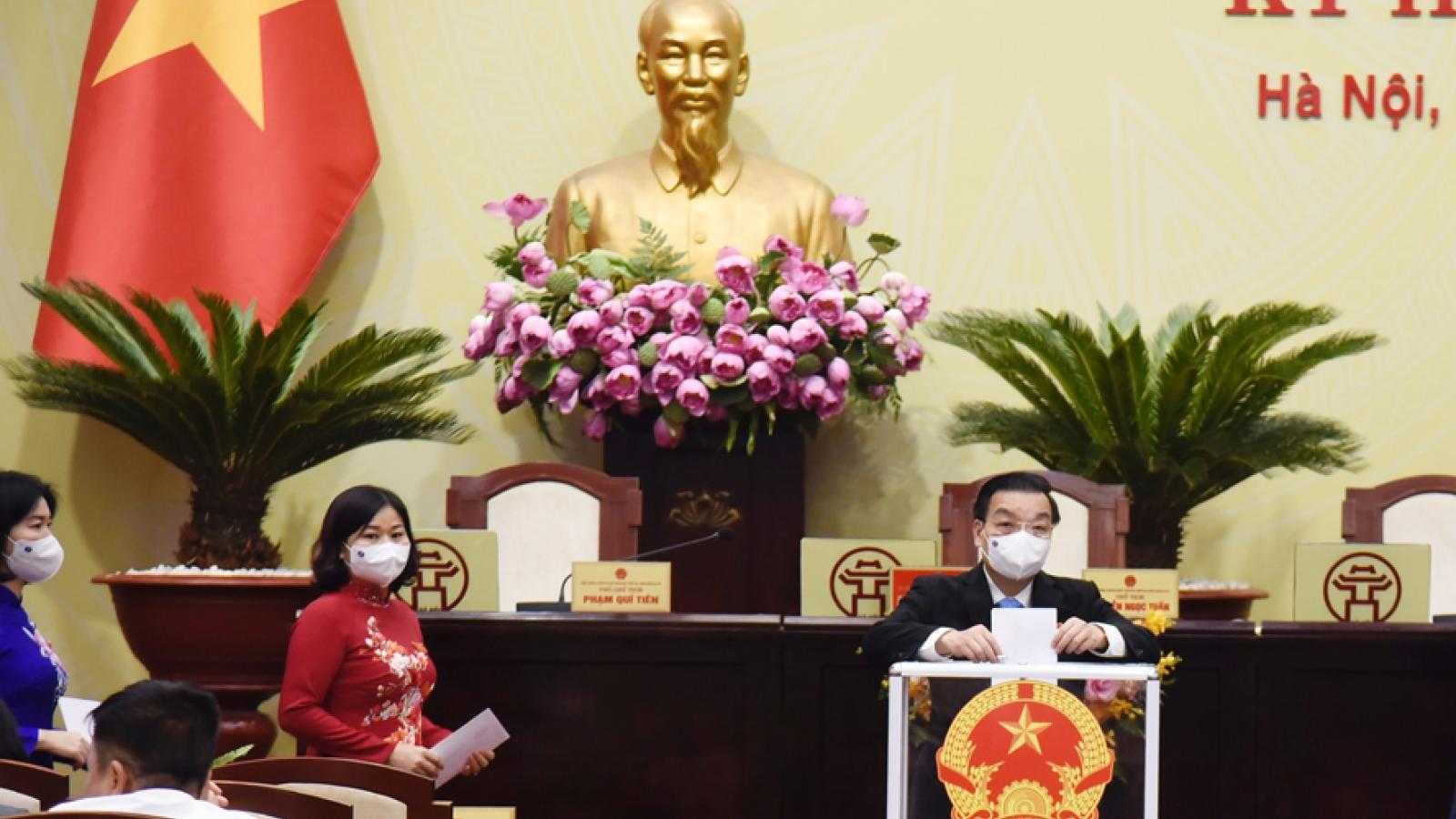 Ông Chu Ngọc Anh tái đắc cử Chủ tịch UBND TP Hà Nội nhiệm kỳ 2021-2026