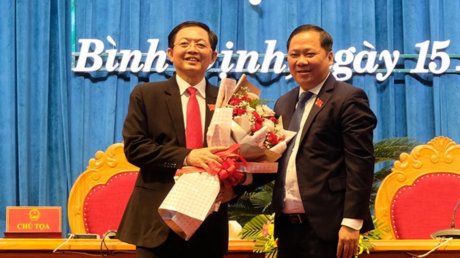 Bí thư Tỉnh ủy Hồ Quốc Dũng giữ chức Chủ tịch HĐND tỉnh Bình Định khóa XIII