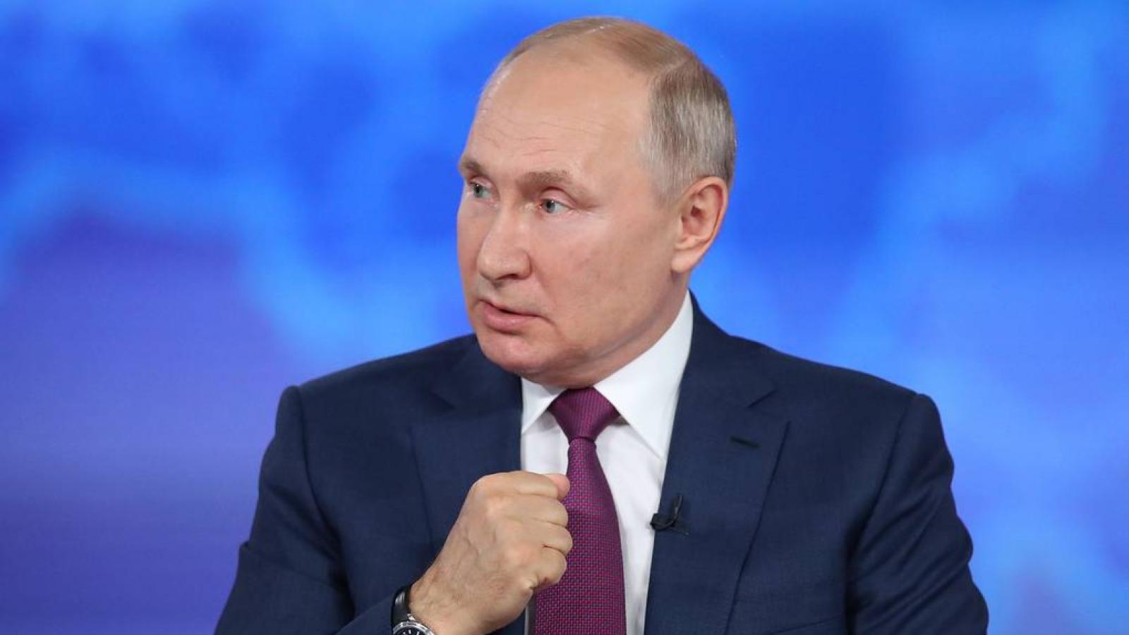 Tổng thống Putin: Mỹ biết thế giới đang thay đổi nhưng vẫn muốn giữ vị trí chi phối