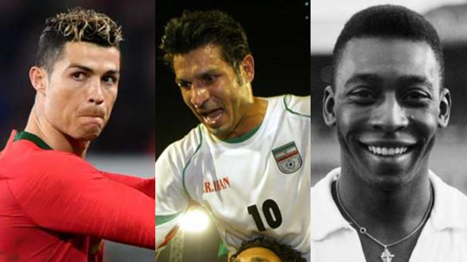 Top 10 chân sút vĩ đại nhất ĐTQG: Ronaldo đếm ngày leo lên ngôi đầu
