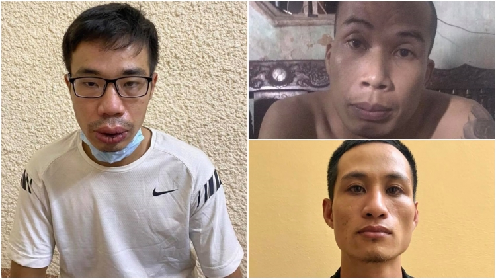Bắt giữ nhóm đối tượng cướp tài sản của shipper tại Hà Nội