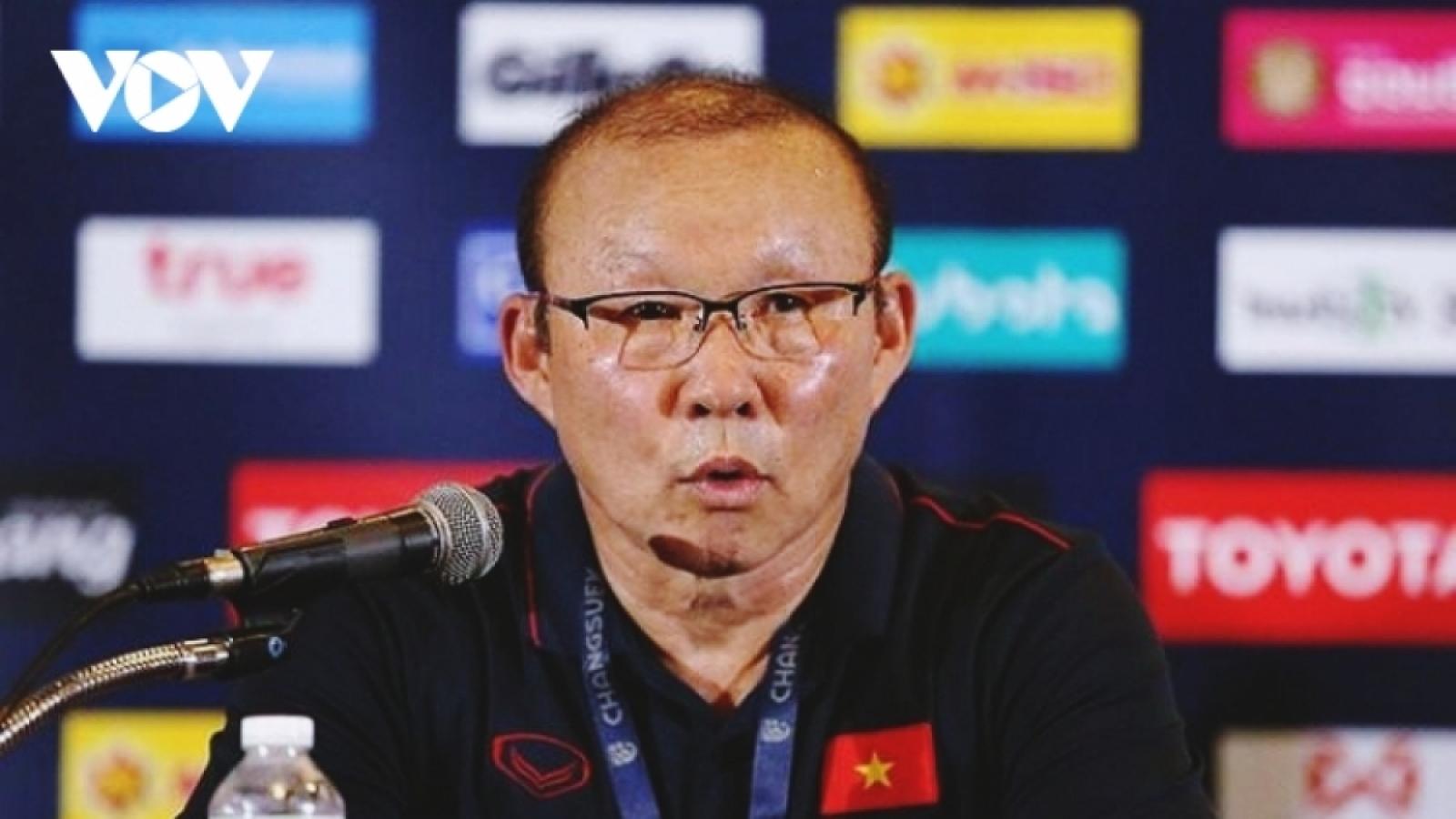 HLV Park Hang Seo viết tâm thư gửi các học trò ở ĐT Việt Nam