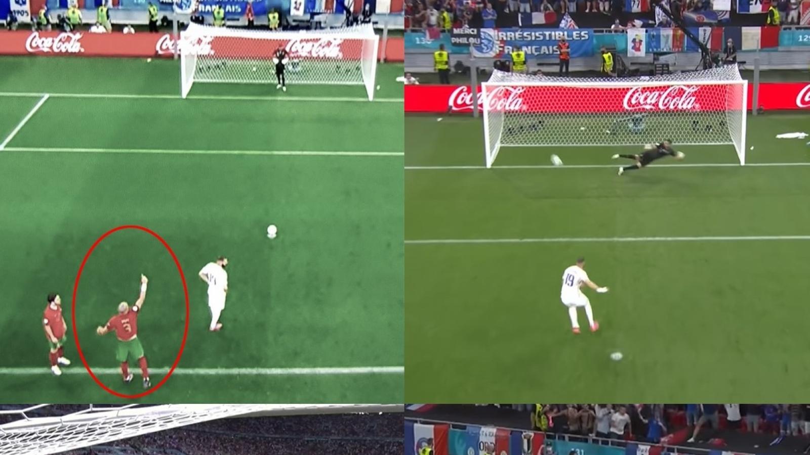 """Rui Patricio ê mặt vì không nghe """"lời tiên tri"""" của Pepe ở trận Bồ Đào Nha 2-2 Pháp"""