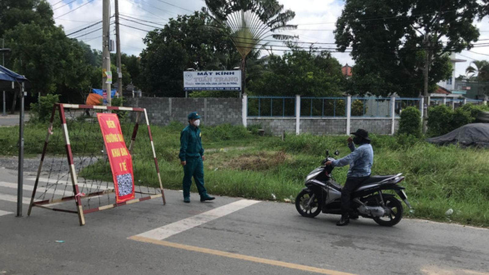 TP.HCM thiết lập vùng phong toả tại huyện Hóc Môn