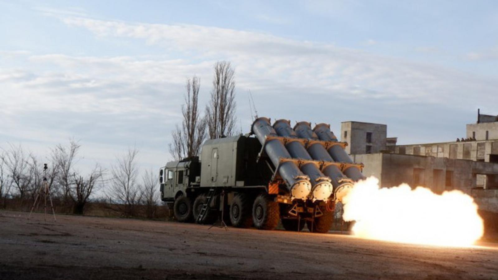 Nga diễn tập bắn tên lửa vào Biển Đen cảnh báo NATO