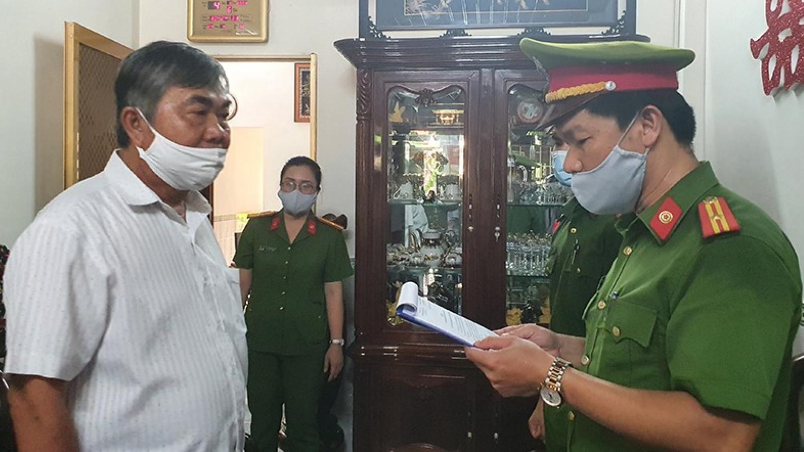 Bắt tạm giam nguyên Phó Chủ tịch thường trực tỉnh Phú Yên