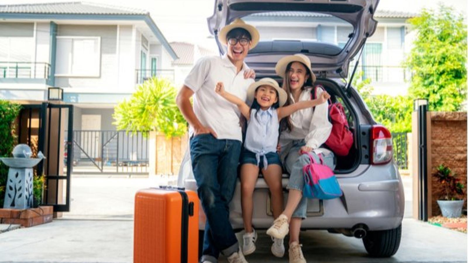 Mẹo soạn đồ cho một chuyến du lịch gia đình thuận tiện