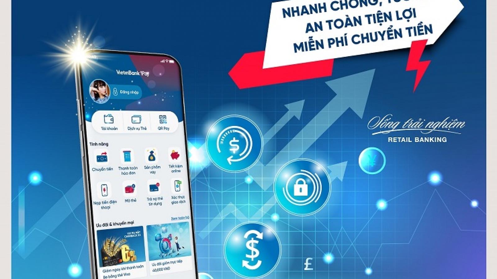 Chuyển tiền chứng khoán trên VietinBank iPay Mobile: Thanh toán tức thì, mọi lúc mọi nơi