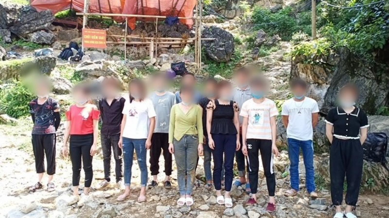 Phát hiện 26 người nhập cảnh trái phép từ Trung Quốc