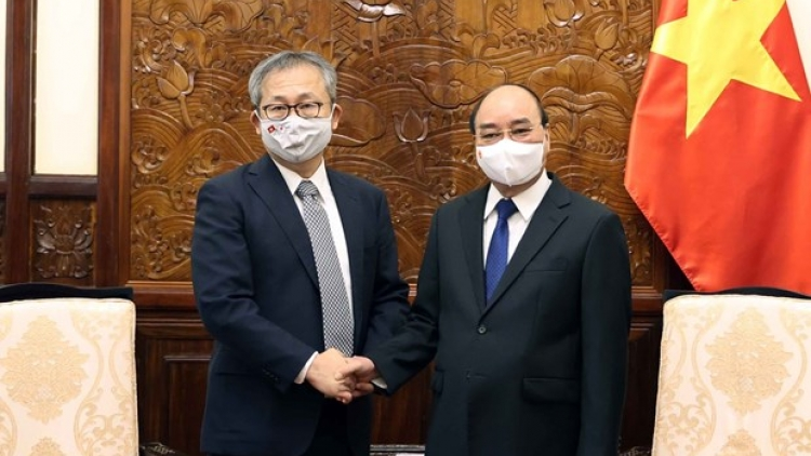 President Nguyen Xuan Phuc receives Japanese Ambassador