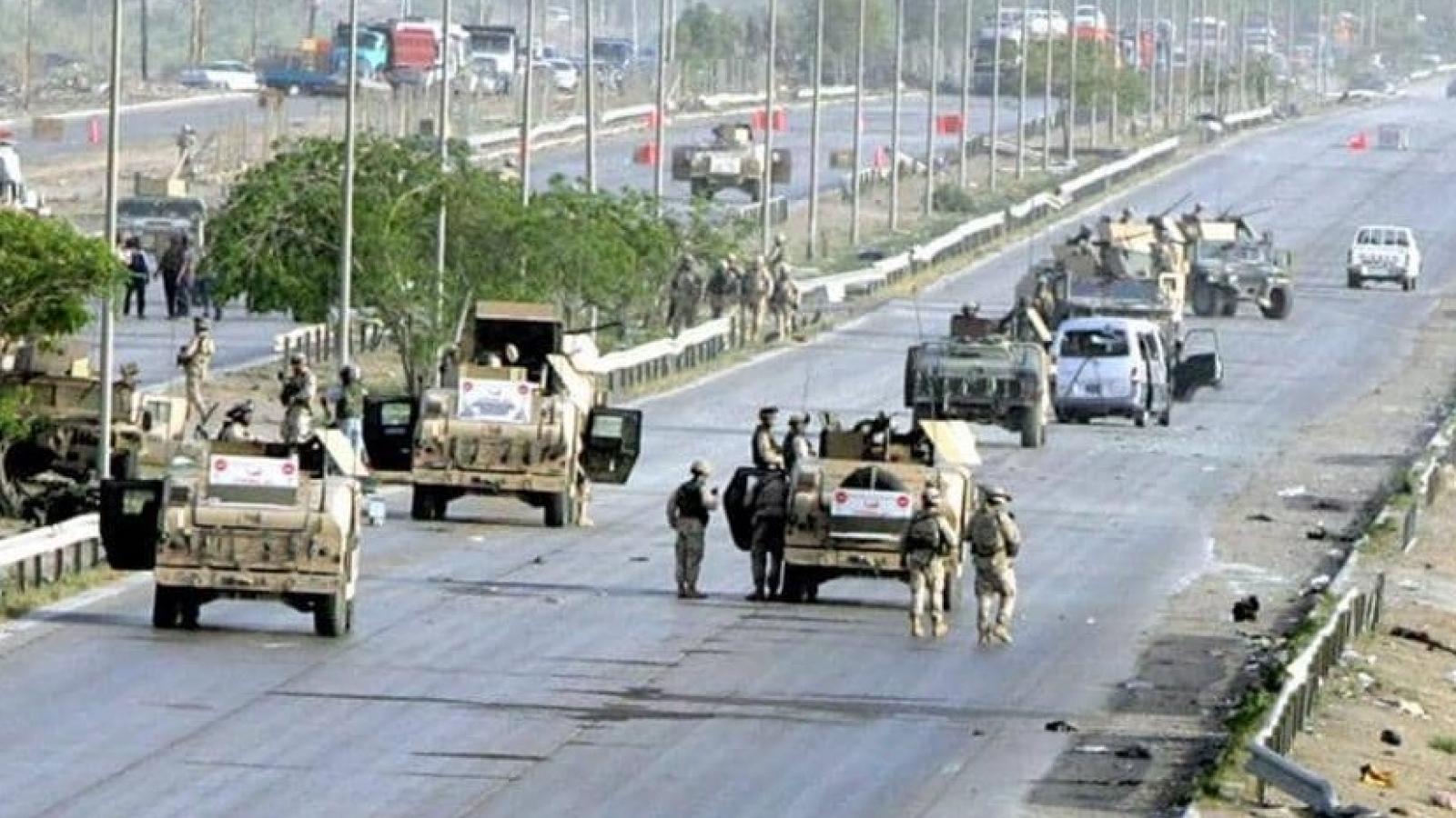 Lực lượng Mỹ được báo động tối đasau khi các căn cứ quân sự tại Iraq bị tấn công