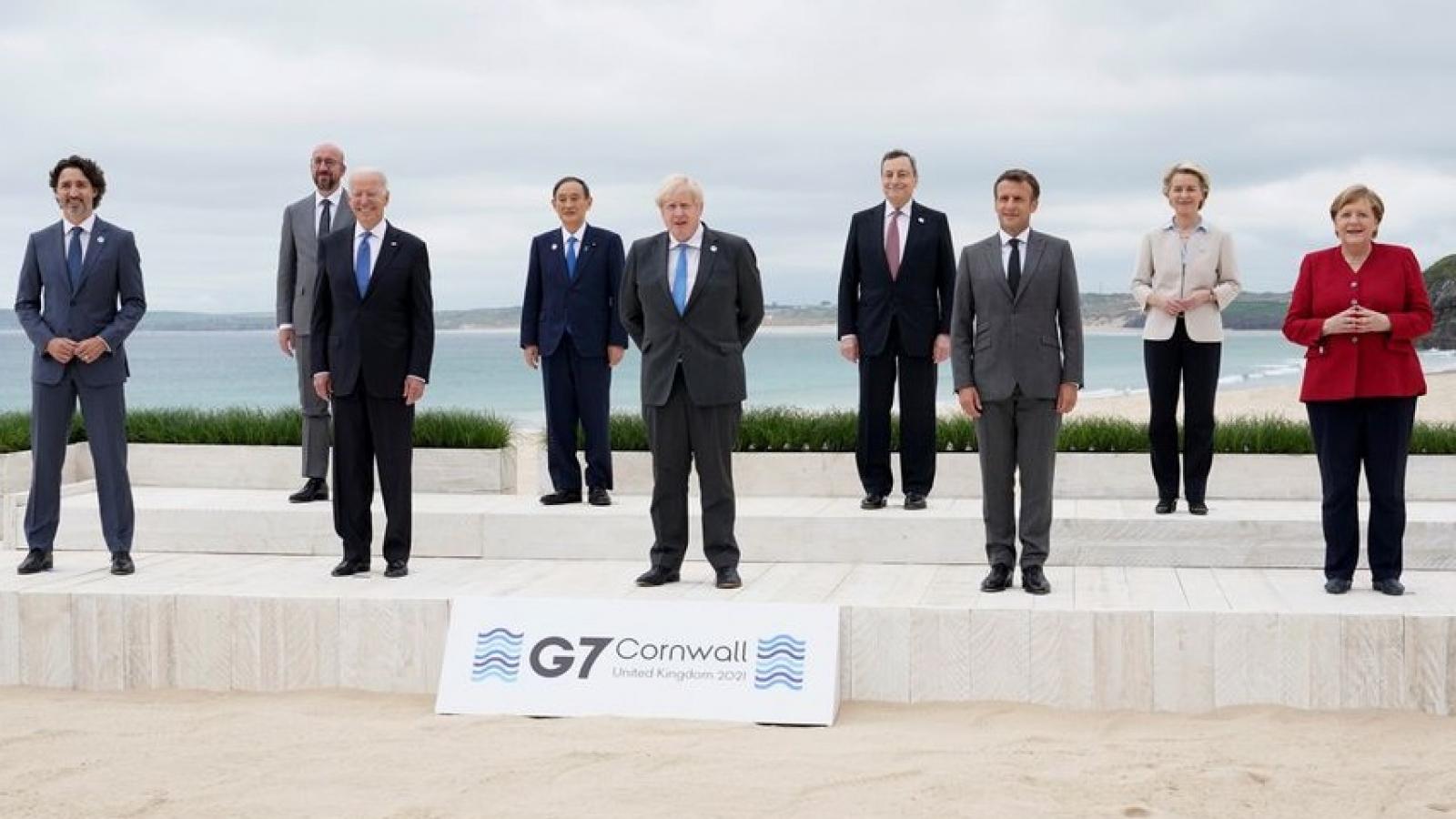Quan chức Mỹ: G7 sẽ dùng dự án hạ tầng để đối phó Vành đai và Con đường của Trung Quốc