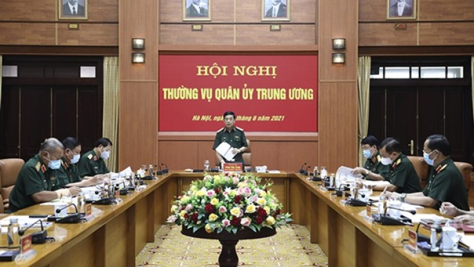 Bộ trưởng Phan Văn Giang chủ trì Hội nghị Thường vụ Quân ủy Trung ương