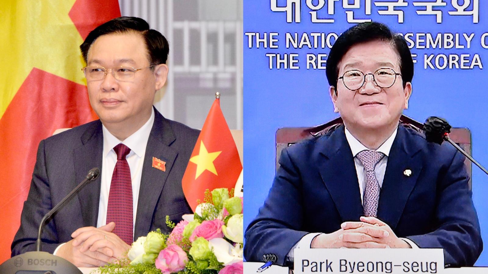 Hàn Quốc đề nghị nâng cấp quan hệ Đối tác chiến lược toàn diện với Việt Nam