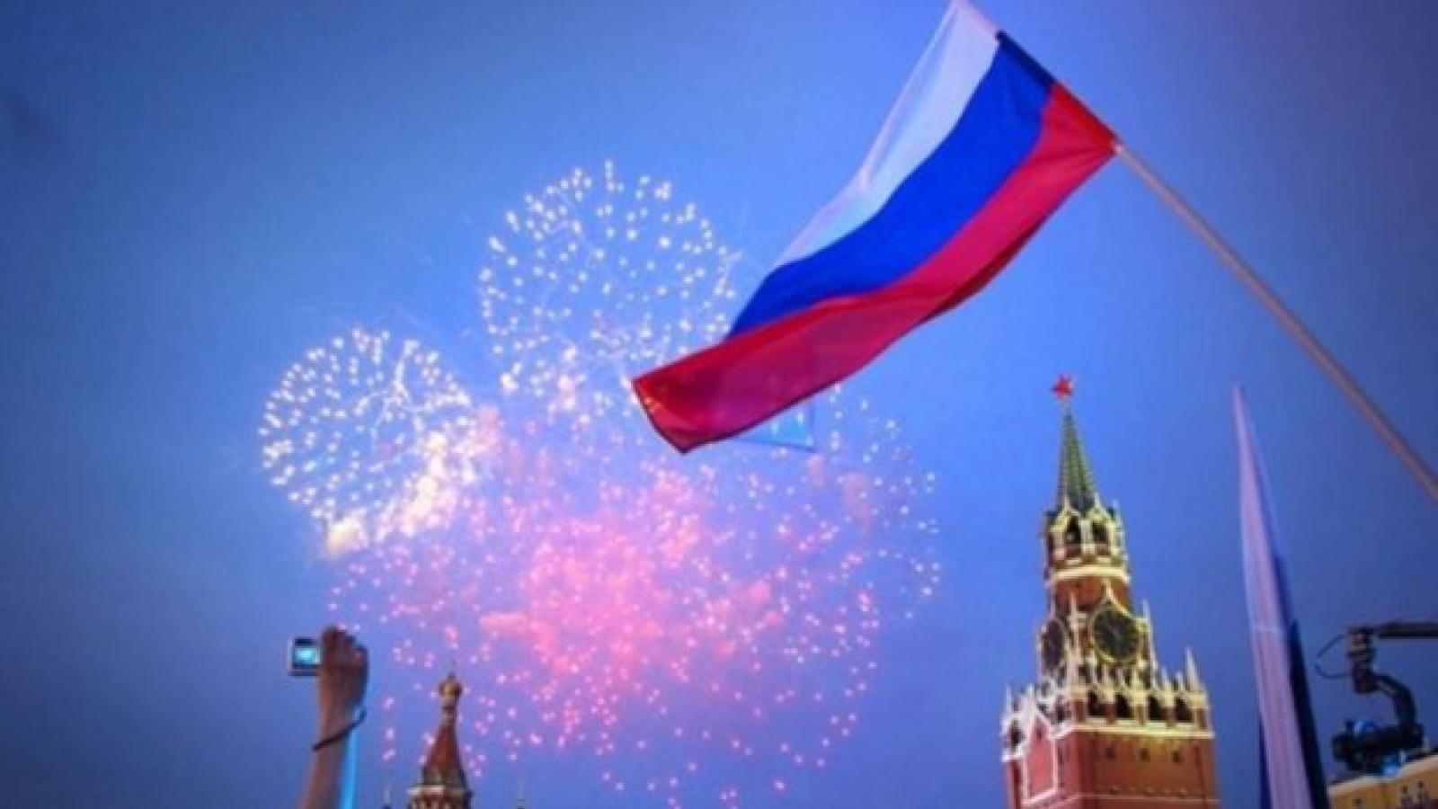 Lãnh đạo Việt Nam gửi điện mừng Quốc khánh Liên bang Nga