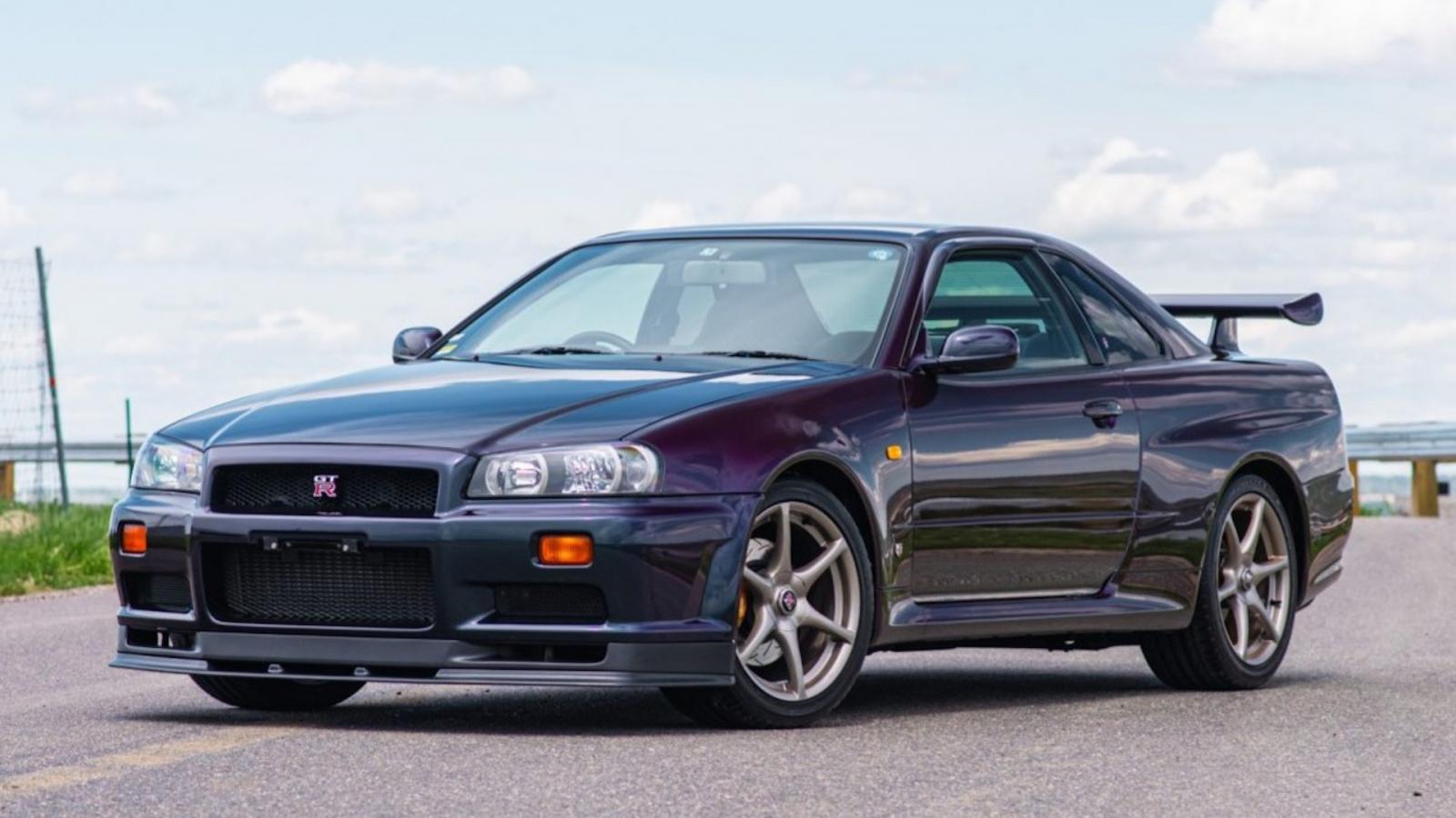 Cận cảnh hàng hiếm Nissan Skyline GT-R với chỉ 30 chiếc được xuất xưởng
