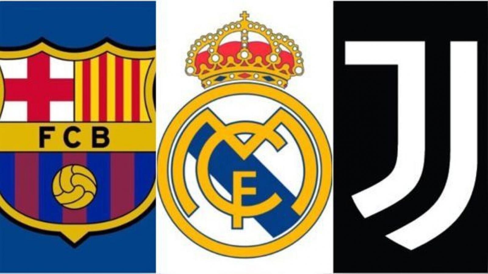 Real Madrid, Barca và Juventus sắp bị cấm dự Champions League