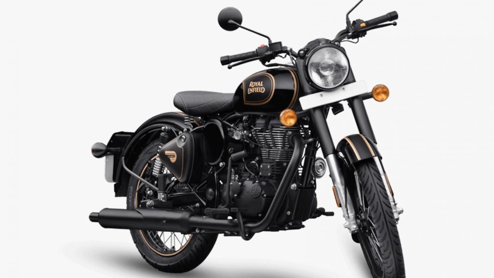 Royal Enfield Classic 500 Tribute Black đánh dấu hồi hết cho động cơ 500cc tại Úc