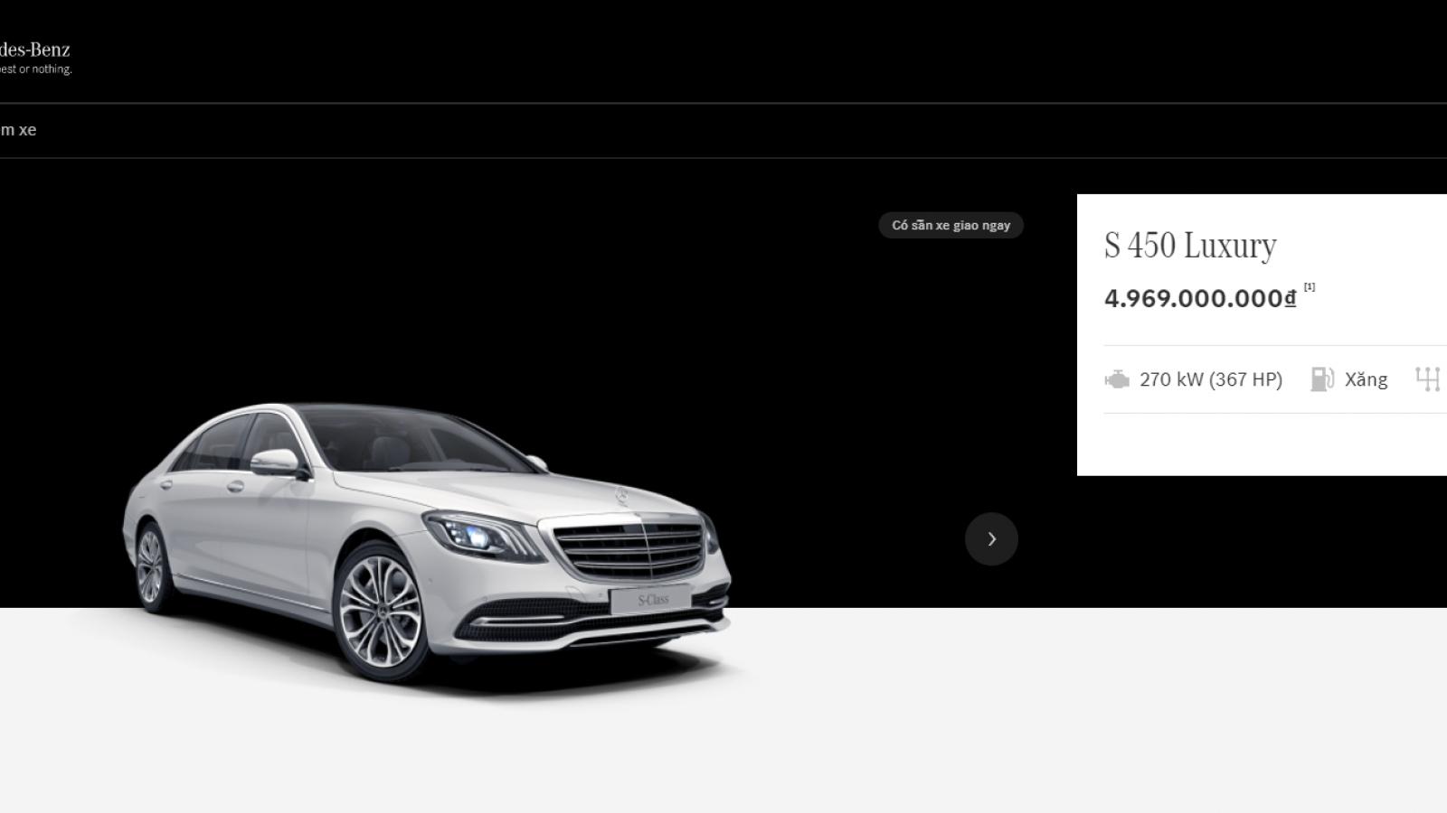 Showroom trực tuyến của Mercedes-Benz được nhiều khách hàng đón nhận