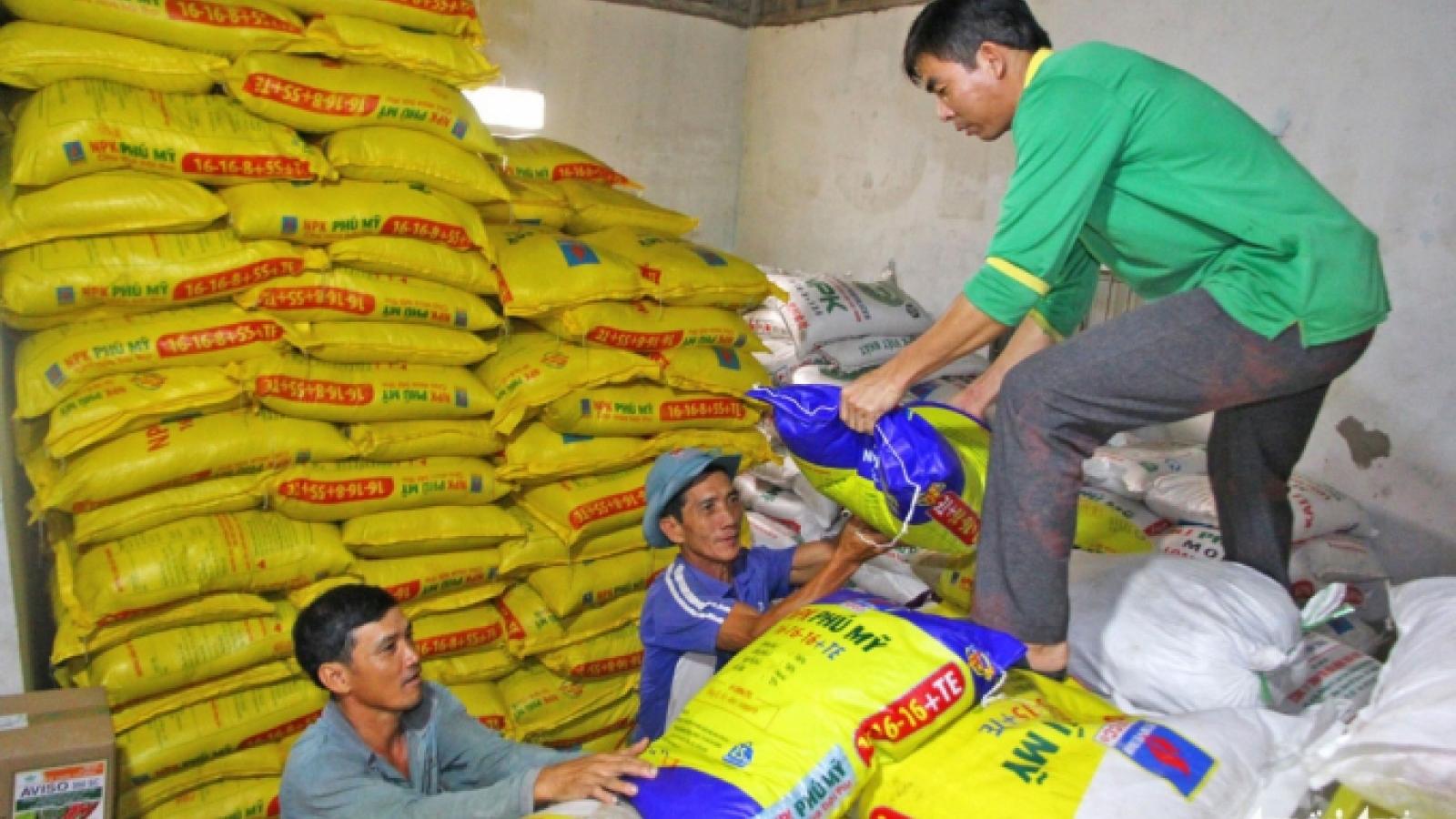 Giá phân bón trong nước diễn biến theo quy luật thị trường thế giới